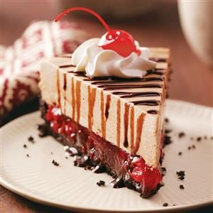 Luscious Black Forest Cheesecake Recipe