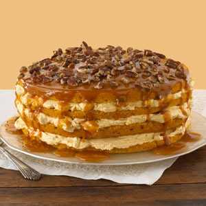 Luscious Four-Layer Pumpkin Cake Recipe