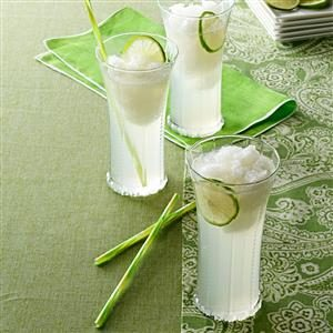Luscious Lime Slush Recipe