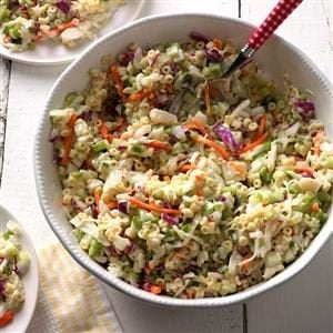 Watch Us Make: Macaroni Coleslaw
