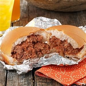 Make-Ahead Sloppy Joes Recipe