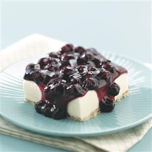 Makeover Blueberry Whipped Topping Dessert