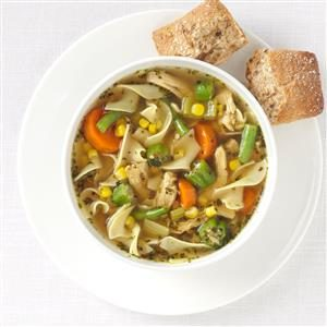 Makeover Carl's Chicken Noodle Soup Recipe