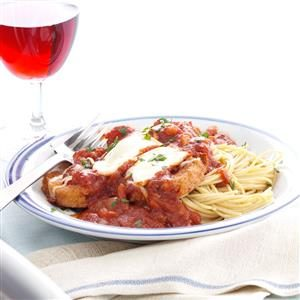 Makeover Eggplant Parmesan Recipe