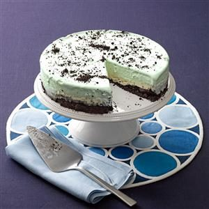 Makeover Frozen Grasshopper Torte Recipe