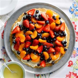 Makeover Fruit Pizza Recipe