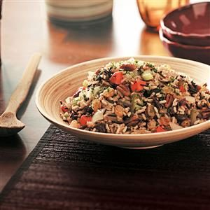 Makeover Fruited Wild Rice Pilaf