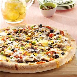 Makeover Loaded Pizza Recipe