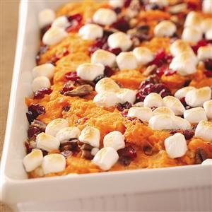 Mallow Sweet Potato Bake Recipe