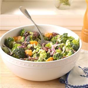 Mandarin Broccoli Salad Recipe