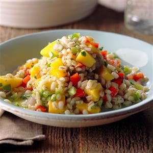 Mango Barley Salad Recipe