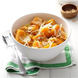 Maple-Almond Butternut Squash