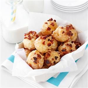 Maple-Bacon Doughnut Bites Recipe
