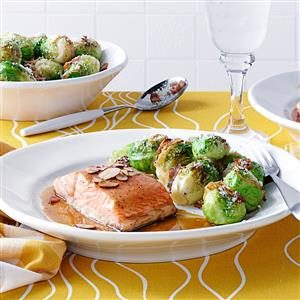 Maple Baked Salmon Recipe