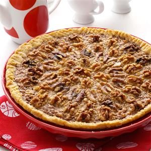 Maple-Caramel Walnut Pie Recipe