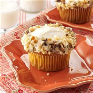 Maple Carrot Cupcakes Recipe