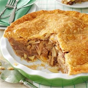 Maple-Glazed Apple Pie Recipe