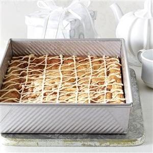 Maple-Glazed Cinnamon Chip Bars Recipe