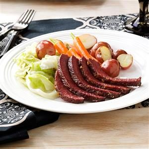 Maple-Glazed Corned Beef Recipe
