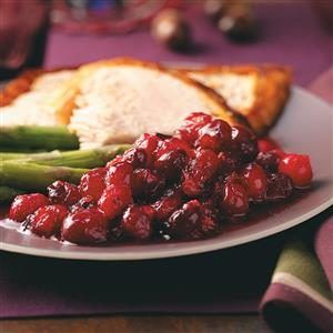 Maple-Honey Cranberry Sauce Recipe