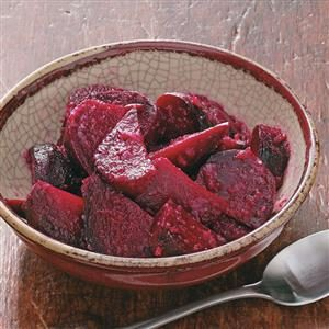 Maple Horseradish Beets for Two Recipe