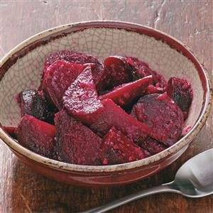 Maple Horseradish Beets
