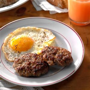 Maple Sausage Patties Recipe