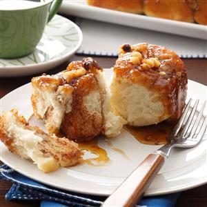 Maple-Walnut Sticky Buns Recipe
