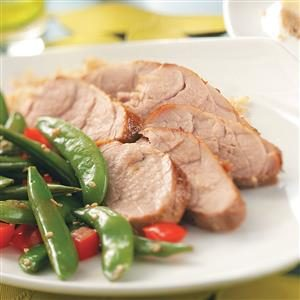 Marinated Asian Pork Tenderloin Recipe