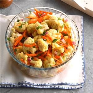 Marinated Cauliflower Salad Recipe