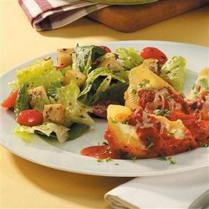 Marinated Mozzarella Tossed Salad Recipe