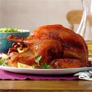Marinated Thanksgiving Turkey Recipe