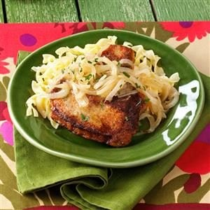 Marsala Pork Chops for Two Recipe