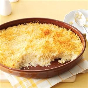 Mashed Cauliflower au Gratin Recipe