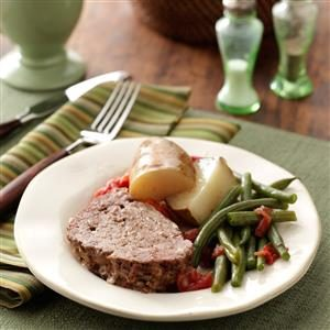 Meat Loaf Dinner Recipe