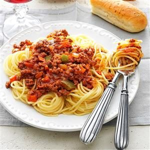 Meat Sauce for Spaghetti Recipe