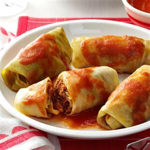 Meatball Cabbage Rolls Recipe