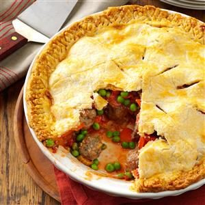 Meatball Pie Recipe