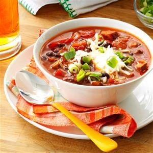 Meatless Mushroom & Black Bean Chili Recipe