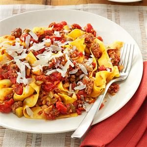 Meaty Sun-Dried Tomato Sauce Recipe
