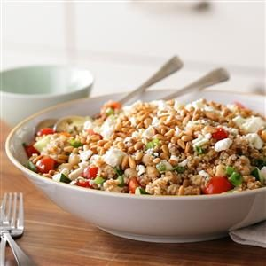 Mediterranean Bulgur Salad Recipe