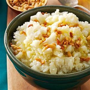 Mediterranean Mashed Potatoes Recipe