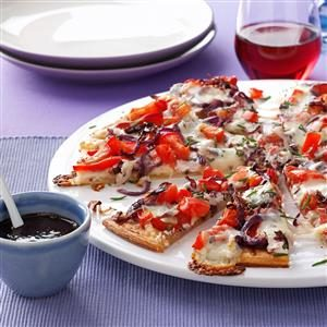 Mediterranean Masterpiece Pizza Recipe