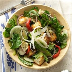 Mediterranean Romaine Salad Recipe