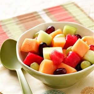 Melon and Grape Salad