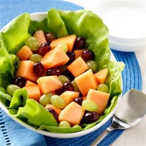 Melon Grape Salad Recipe