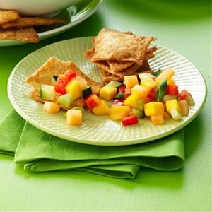Melon-Mango Salsa Recipe