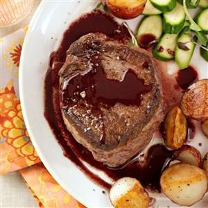 Merlot Filet Mignon Recipe