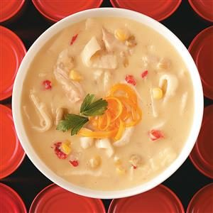 Mexican Chicken Tortilla Chowder Recipe