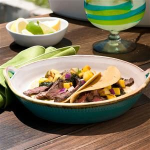 Mexican Flank Steak Tacos Recipe